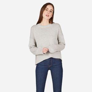 Everlane | The Soft Cotton Square Crew Sweater L